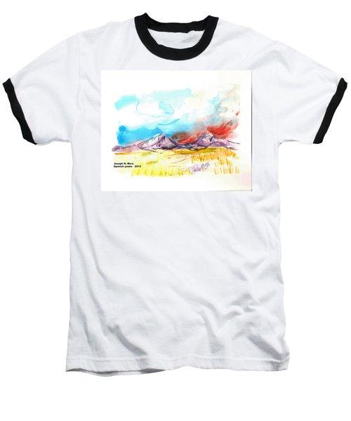 Spanish Peaks Study Baseball T-Shirt