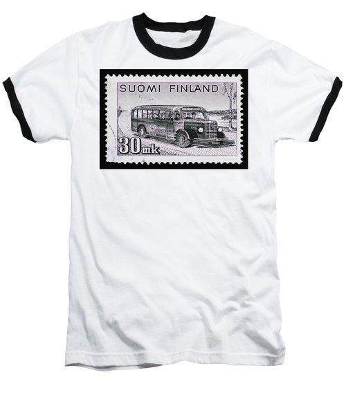 Baseball T-Shirt featuring the photograph Speedy Old Bus by Andy Prendy