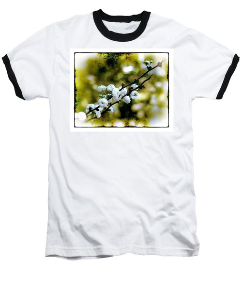 Baseball T-Shirt featuring the photograph Spring Bough by Judi Bagwell