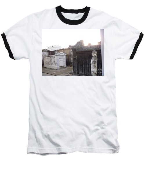 Baseball T-Shirt featuring the photograph Standing Guard by Alys Caviness-Gober