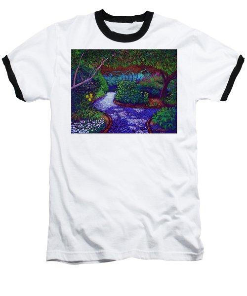 Southern Garden Baseball T-Shirt by Jeanette Jarmon