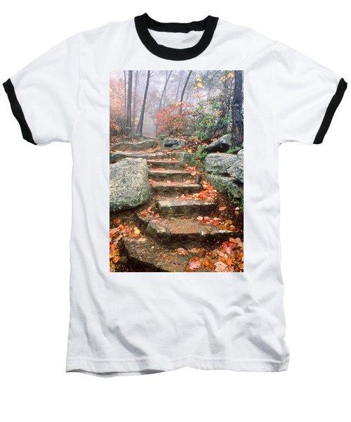 Steps Cloudland Canyon Baseball T-Shirt