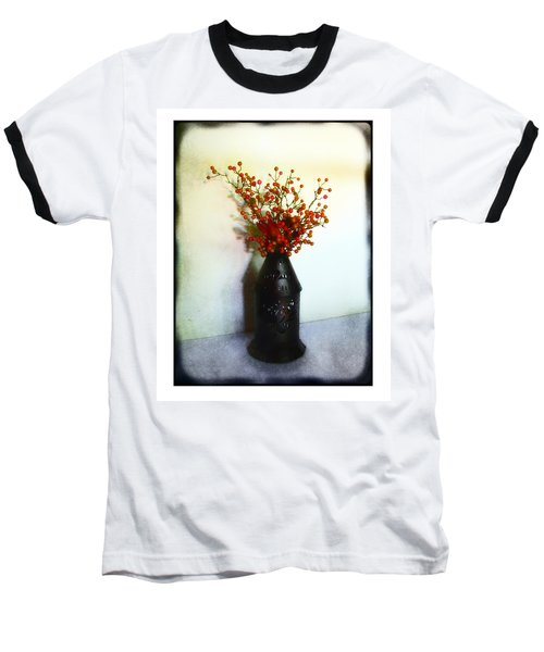 Still Life With Berries Baseball T-Shirt by Judi Bagwell