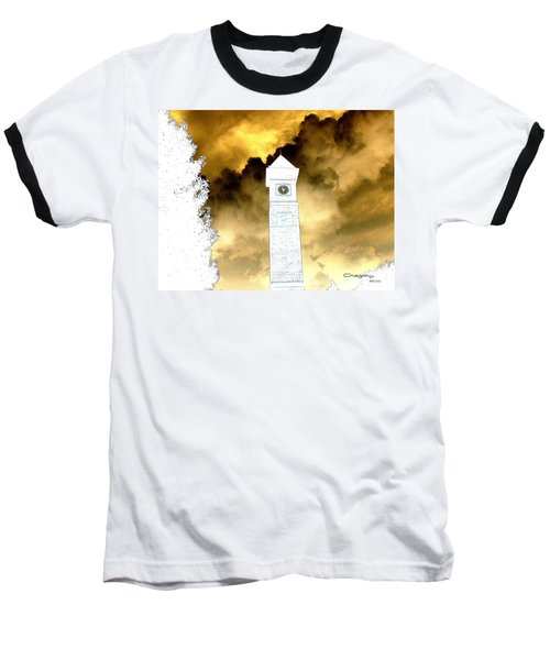Baseball T-Shirt featuring the photograph Storm Clouds by Greg Moores