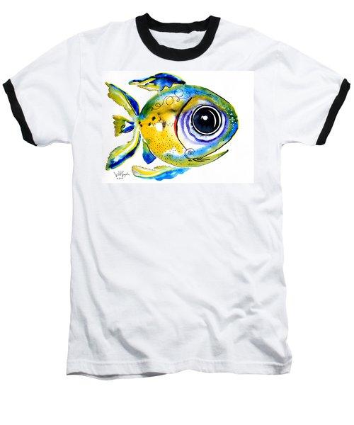 Stout Lookout Fish Baseball T-Shirt