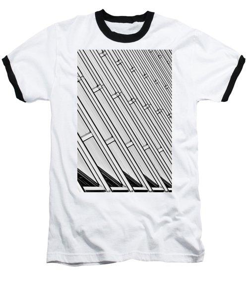 Structural Intrigue Baseball T-Shirt