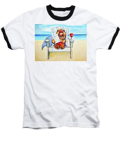 Sudoku At The Beach Baseball T-Shirt
