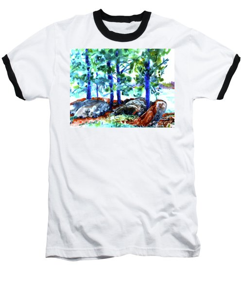 Summer By The Lake Baseball T-Shirt