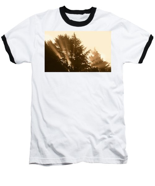 Sunrise In Sepia Baseball T-Shirt