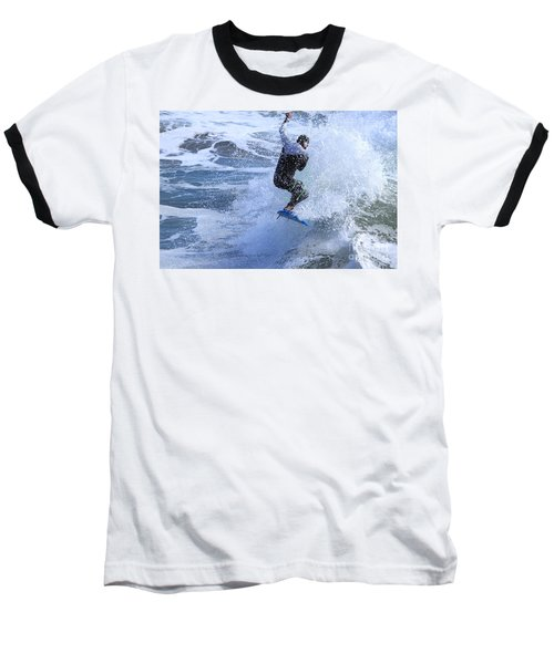 Surfer Baseball T-Shirt