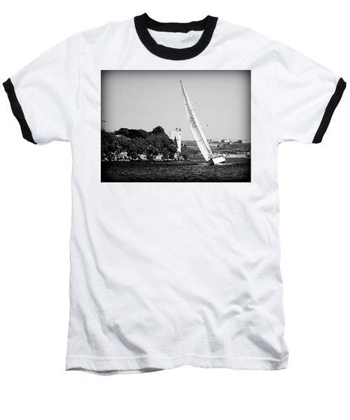 Baseball T-Shirt featuring the photograph Tall Ship Race 1 by Pedro Cardona