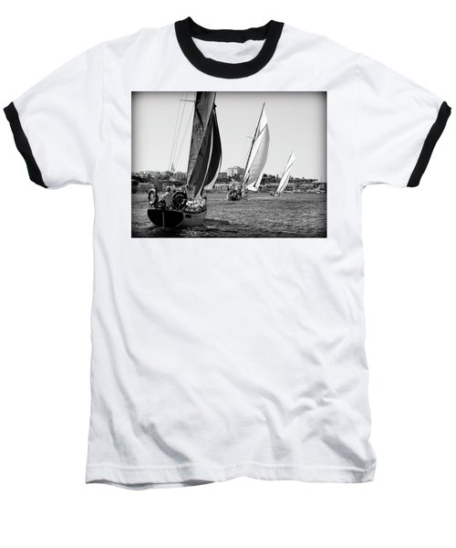 Baseball T-Shirt featuring the photograph Tall Ship Races 2 by Pedro Cardona