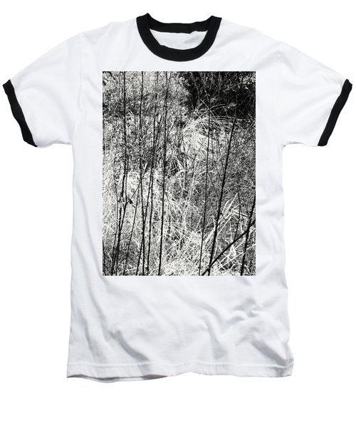 Tangled Weeds 2 Baseball T-Shirt