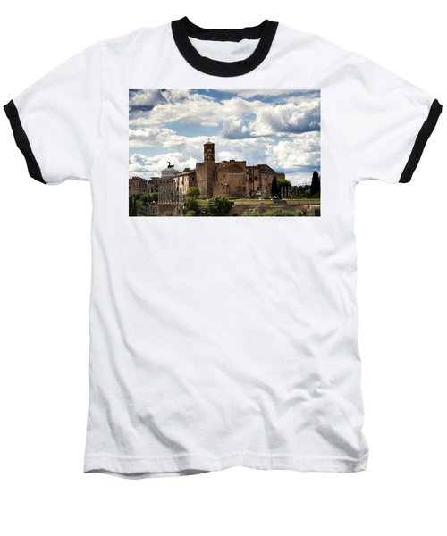 Temple Of Venus And Roma Baseball T-Shirt