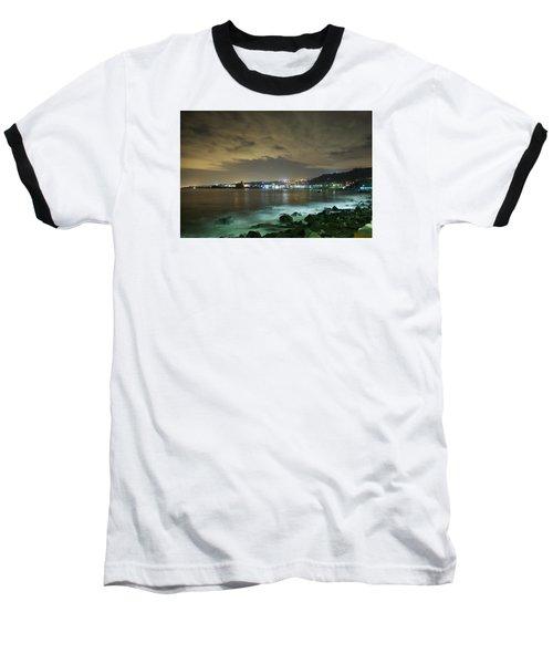 The Alien Night Of Acitrezza Baseball T-Shirt