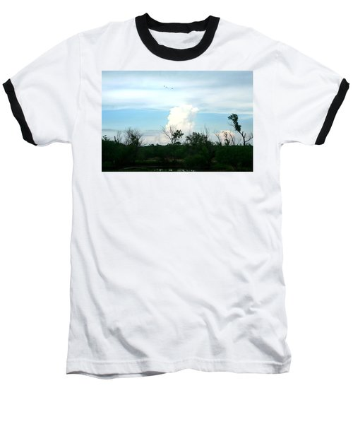 Baseball T-Shirt featuring the photograph The Back Forty by Lon Casler Bixby