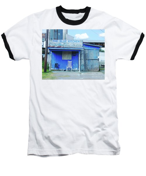 The Blue Kitchen Baseball T-Shirt