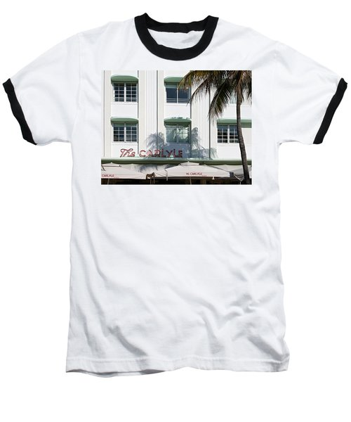 The Carlyle Hotel 2. Miami. Fl. Usa Baseball T-Shirt