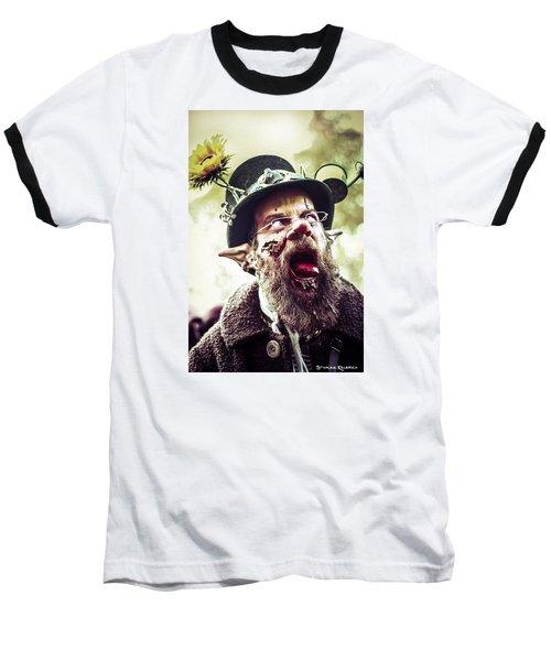 Baseball T-Shirt featuring the photograph The Fool Goblin by Stwayne Keubrick