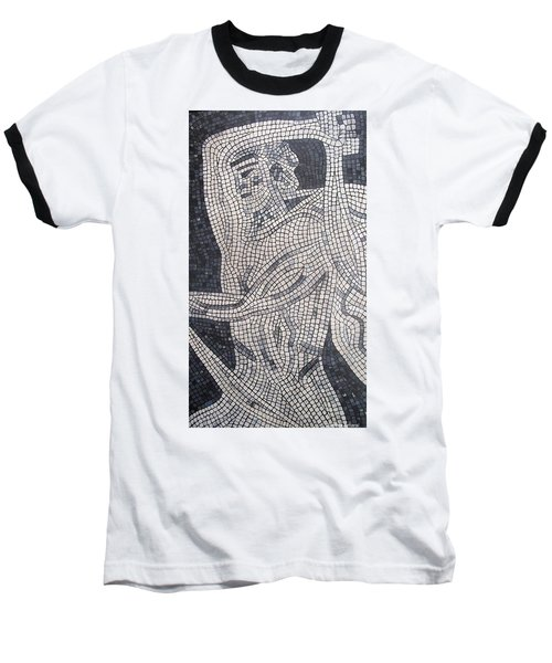 Baseball T-Shirt featuring the painting The Hunter by Cynthia Amaral