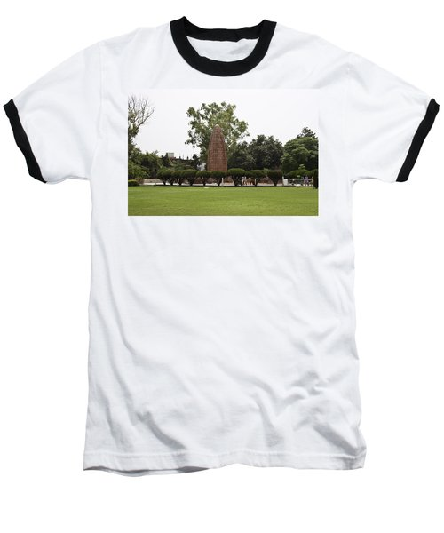 The Jallianwala Bagh Memorial In Amritsar Baseball T-Shirt by Ashish Agarwal