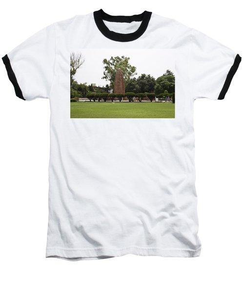 Baseball T-Shirt featuring the photograph The Jallianwala Bagh Memorial In Amritsar by Ashish Agarwal