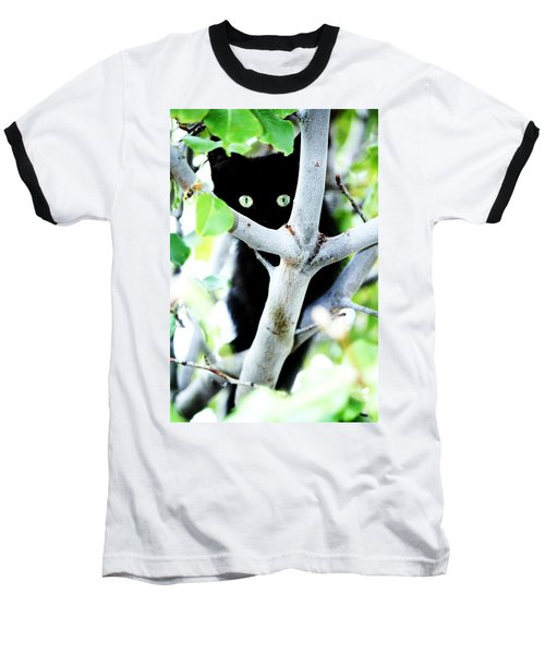 Baseball T-Shirt featuring the photograph The Little Huntress by Jessica Shelton