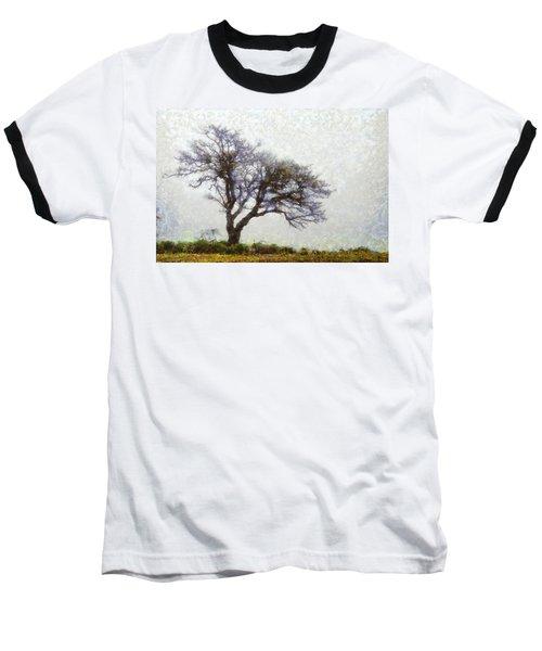 The Lonely Tree Baseball T-Shirt