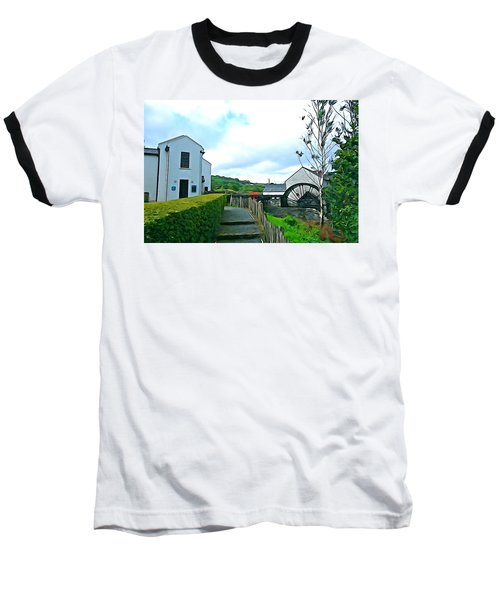 Baseball T-Shirt featuring the photograph The Mill by Charlie and Norma Brock