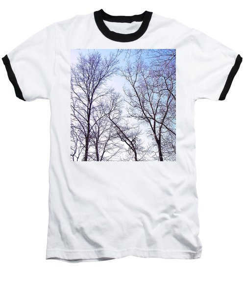 Baseball T-Shirt featuring the photograph Through To Heaven by Pamela Hyde Wilson