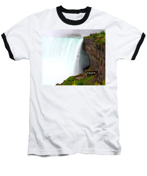 Baseball T-Shirt featuring the photograph Thundering Force by Davandra Cribbie