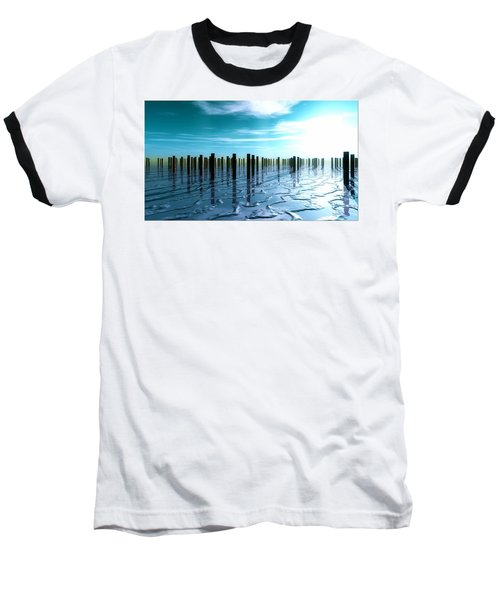 Tide Is Out... Baseball T-Shirt