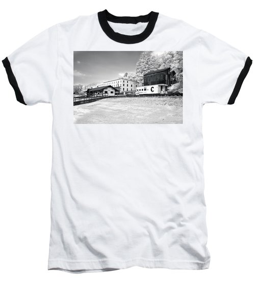 Baseball T-Shirt featuring the photograph Train Depot by Mary Almond