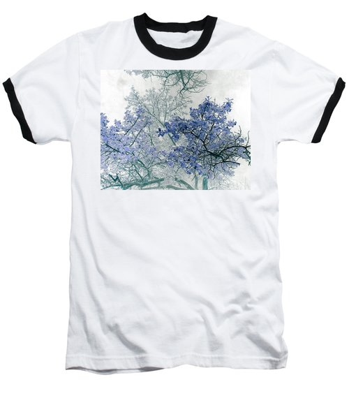 Trees Above Baseball T-Shirt