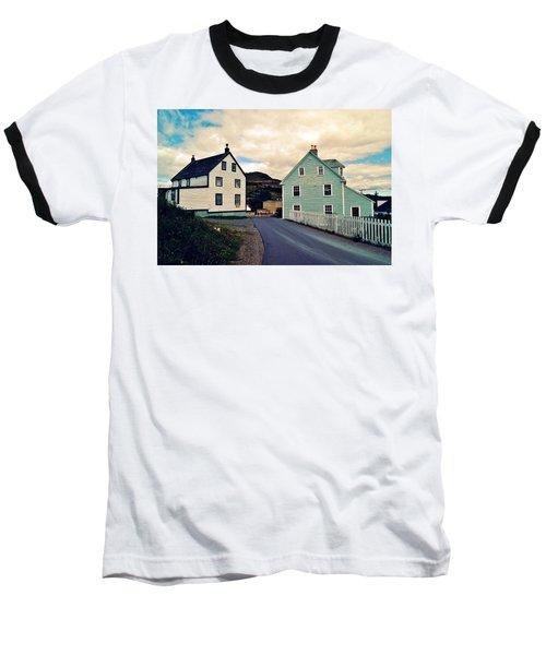 Trinity I Baseball T-Shirt by Leanna Lomanski