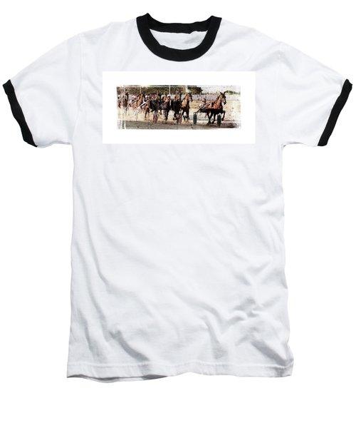Baseball T-Shirt featuring the photograph Trotting 3 by Pedro Cardona