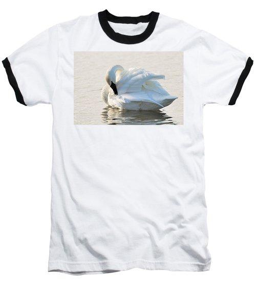 Tumpeter Swan Baseball T-Shirt
