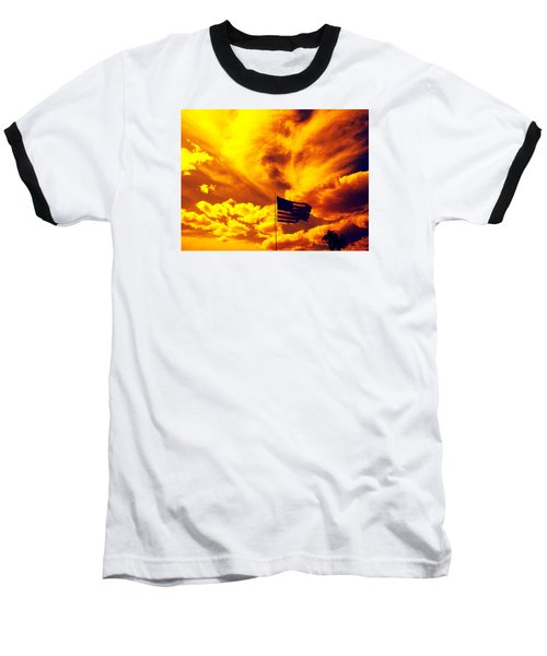Turbulant America Baseball T-Shirt