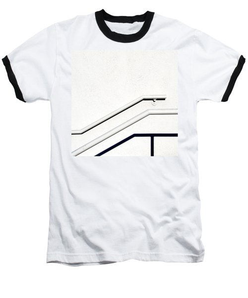 Baseball T-Shirt featuring the photograph Two Rails by CML Brown