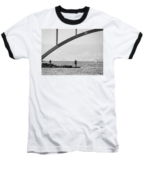 Under The Bridge 2 Baseball T-Shirt