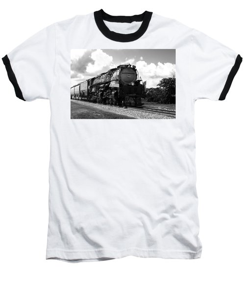Union Pacific 3985 Baseball T-Shirt