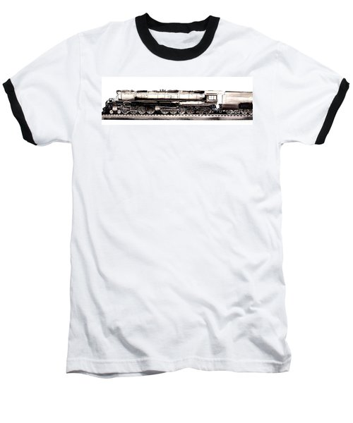 Union Pacific 4-8-8-4 Steam Engine Big Boy 4005 Baseball T-Shirt