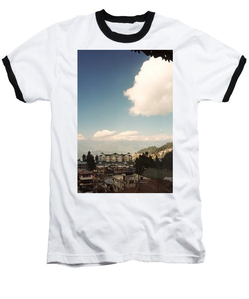 Baseball T-Shirt featuring the photograph View From The Window by Fotosas Photography