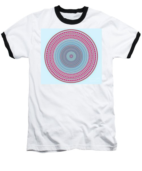 Vintage Color Circle Baseball T-Shirt
