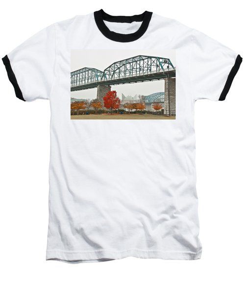 Walnut Street Bridge Baseball T-Shirt