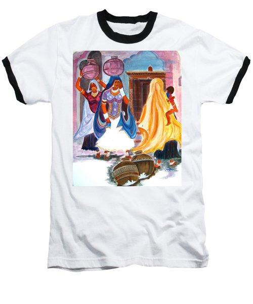 Water Belles Baseball T-Shirt