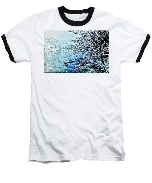 West River Snow Baseball T-Shirt