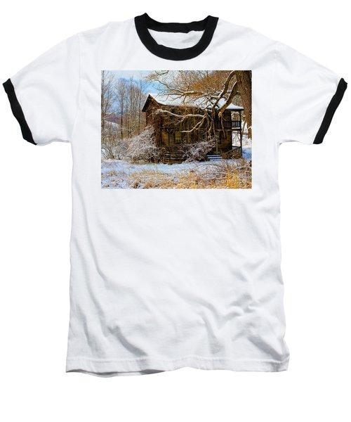 West Virginia Winter Baseball T-Shirt by Ronald Lutz