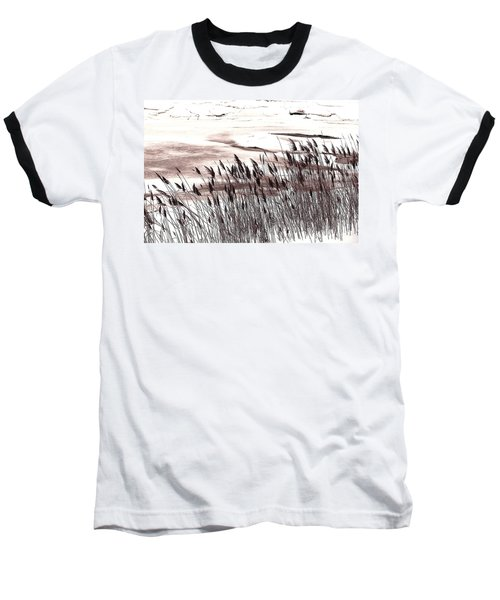 Winter Grasses Baseball T-Shirt