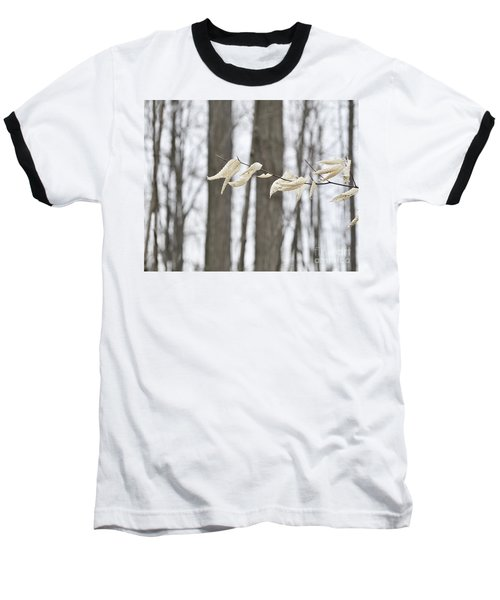 Winter White Baseball T-Shirt
